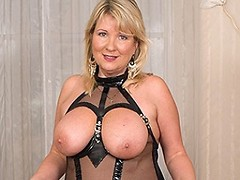 British big breasted housewife goes wild